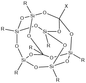 Structure of POSS.
