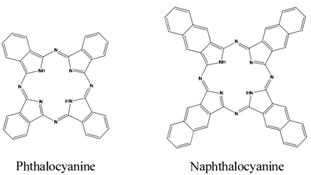 Planar structure of phthalonitrile and naphthalonitrile